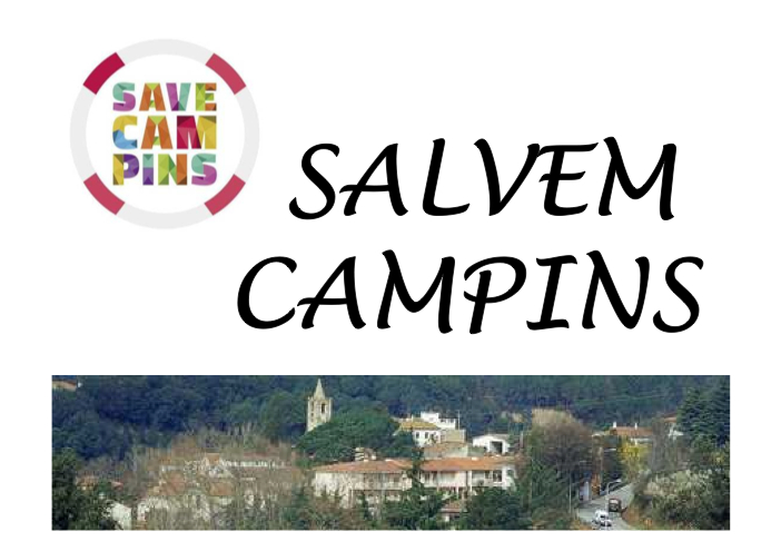 Presentació de l'associació Salvem Campins