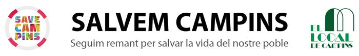 Salvem Campins Logo